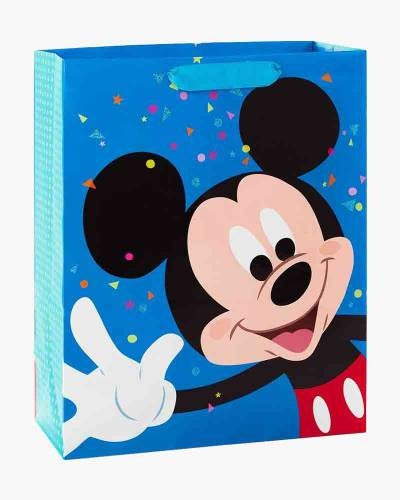 Disney Mickey Mouse Happy Wave Extra-Large Gift Bag (15.5 inch)