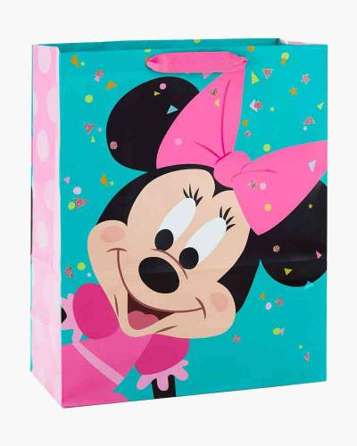 Disney Minnie Mouse With Pink Bow Extra-Large Gift Bag (15.5-inch)