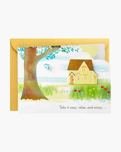 Take It Easy Hammock Mini Pop Up Birthday Card