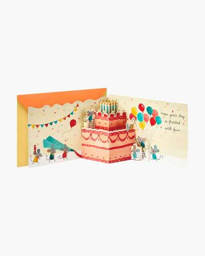 A Day Frosted With Fun Pop Up Birthday Card