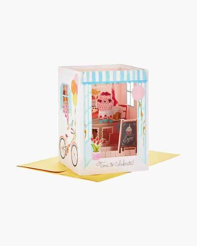 Time to Celebrate Pop Up Shadow Box Birthday Card
