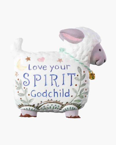 Love Your Spirit, Godchild Lamb 2019 Porcelain Ornament