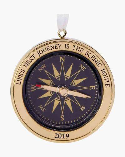 Life's Next Journey Compass 2019 Metal Ornament