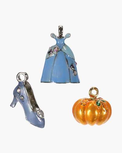 Mini Disney Cinderella Having a Ball Metal Ornaments, Set of 3