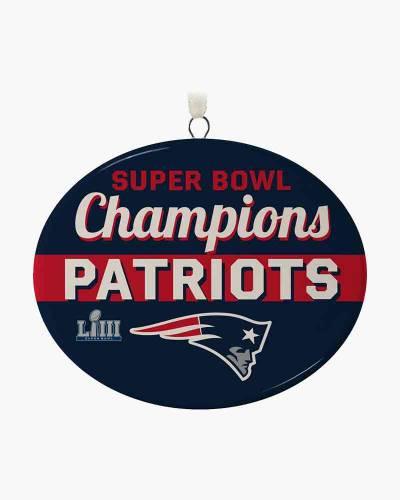New England Patriots Super Bowl LIII Commemorative Ornament