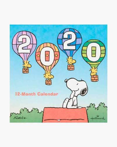 Peanuts 2020 Wall Calendar, 12-Month