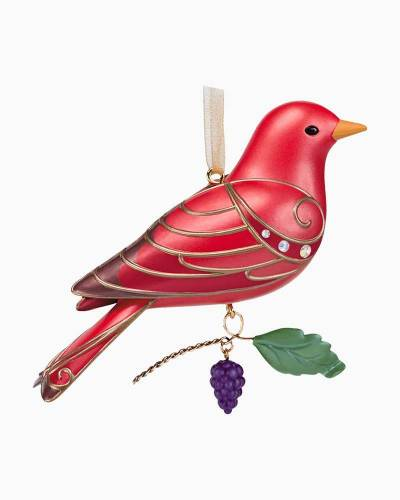 The Beauty of Birds Summer Tanager Ornament