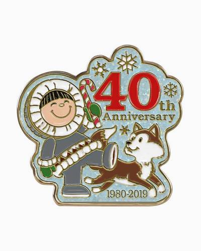 40 Years of Frosty Friends Collectible Enamel Pin