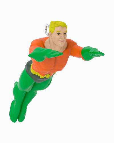Mini DC Comics Justice League Aquaman Ornament, 1.13""