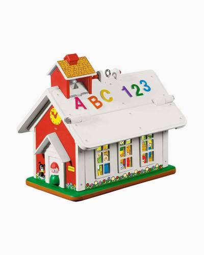 "Mini Fisher-Price Lil' School House Ornament, 1.08"""