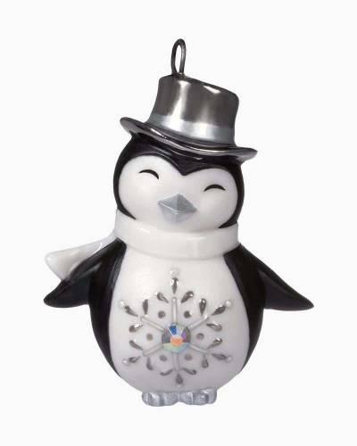 "Mini Pretty Penguin Porcelain Ornament, 1.31"""