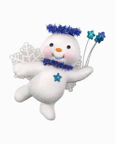 Sweet Star Angel Snowman Ornament