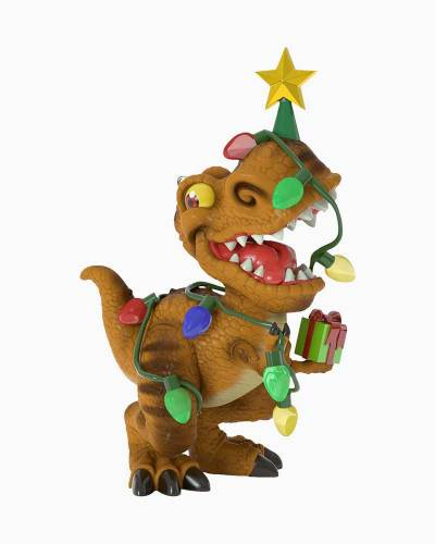 Tree Rex Dinosaur Ornament