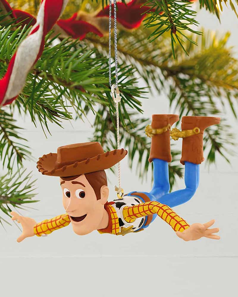 Toy Story Christmas Ornaments.Disney Pixar Toy Story Woody Is On A Mission Ornament