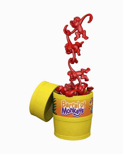Hasbro Barrel of Monkeys Ornament