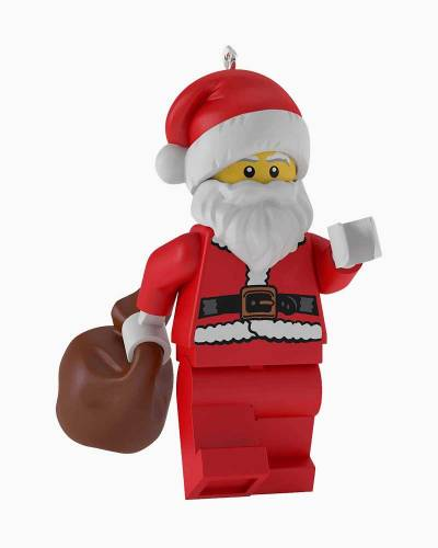 LEGO Santa Claus Minifigure Christmas Ornament