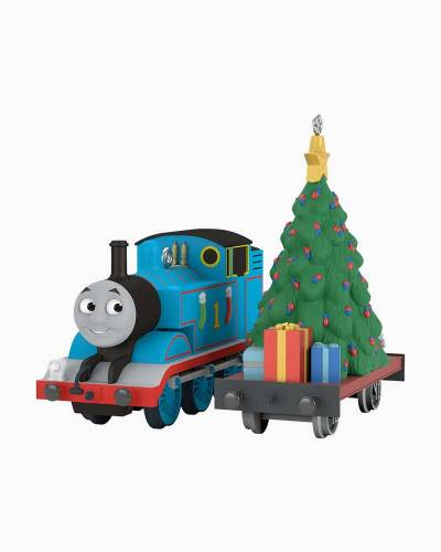 Thomas the Tank Engine A Tree for Thomas Ornament, Set of 2