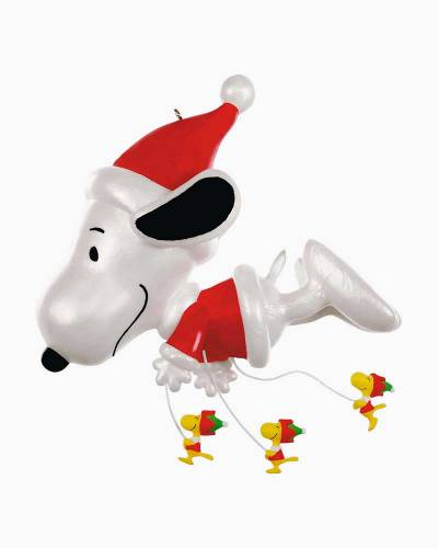 The Peanuts Gang Fly On, Snoopy! Ornament