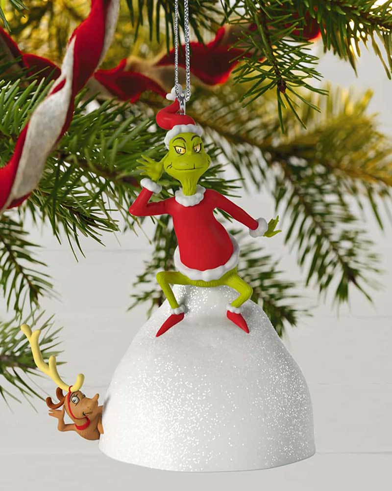 Dr Seuss Christmas.Dr Seuss How The Grinch Stole Christmas Welcome Christmas Musical Ornament