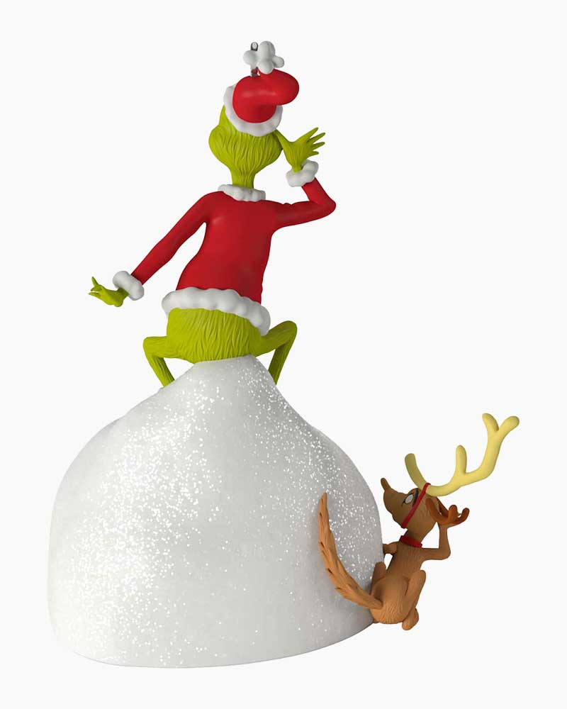 Welcome Christmas Grinch.Dr Seuss How The Grinch Stole Christmas Welcome Christmas Musical Ornament