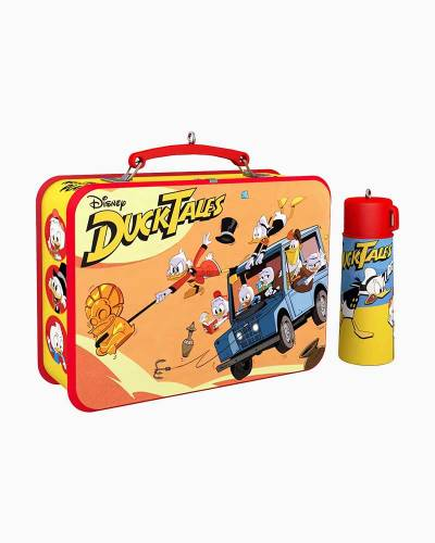Disney DuckTales Lunchbox and Thermos Ornaments, Set of 2