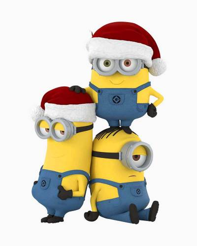 Despicable Me Merry Minions Ornament
