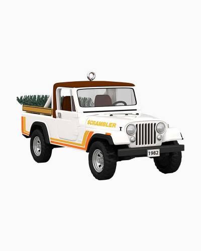 All-American Trucks 1982 Jeep CJ-8 Scrambler Metal Ornament