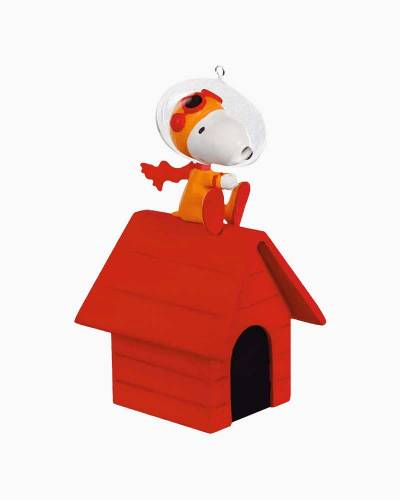 The Peanuts Gang The Flying Ace Goes to Space! Ornament