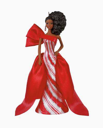 2019 African-American Holiday Barbie Doll Ornament