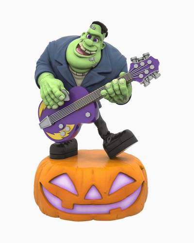 Monster Mash Collection Frank on Guitar Musical Halloween Ornament With Light