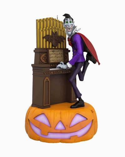 Monster Mash Collection Dracula on Organ Musical Halloween Ornament With Light