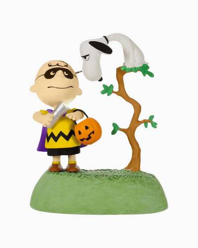 The Peanuts Gang The Halloween Vulture Musical Halloween Ornament With Light