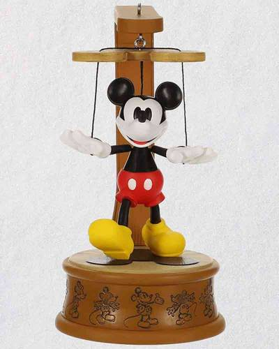 Disney Mickey Mouse Marionette Club-Exclusive Ornament