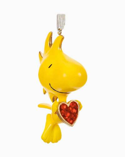 The Peanuts Gang For the Love of Woodstock Metal Ornament