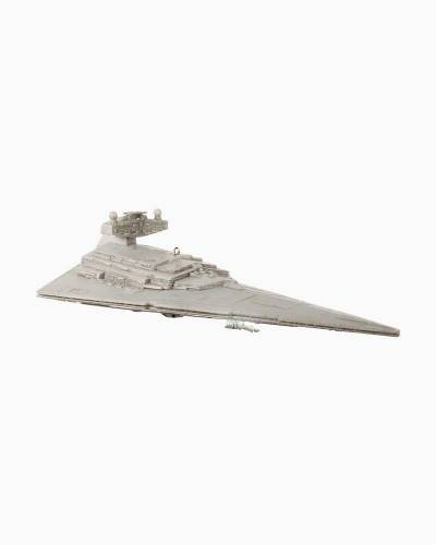 Star Wars Imperial Star Destroyer Ornament With Light and Sound