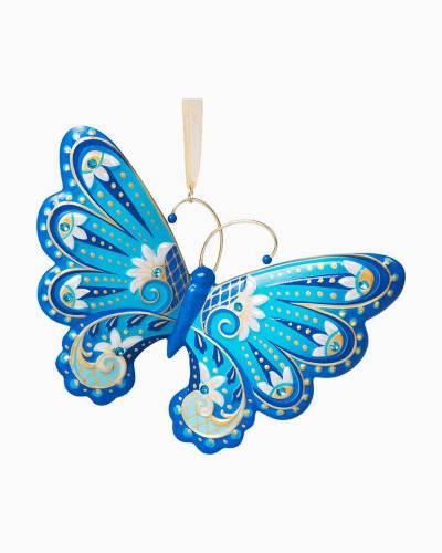 Graceful Butterfly Porcelain Ornament