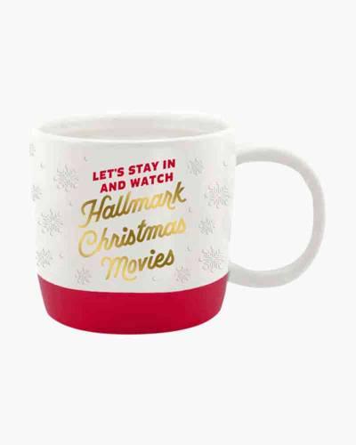 Let's Watch Hallmark Christmas Movies Mug, 15.5 oz.