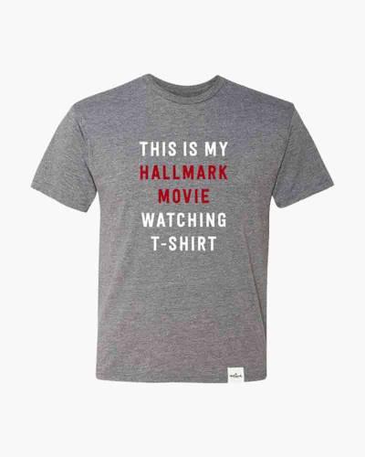 Hallmark Movie Watching T-Shirt