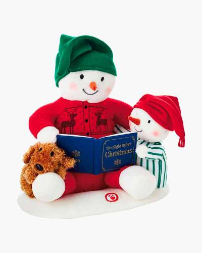 """Storytime Snowman Singing Stuffed Animal With Motion, 9.5"""""""