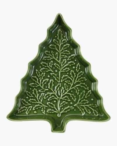 Christmas Tree Ceramic Serving Dish