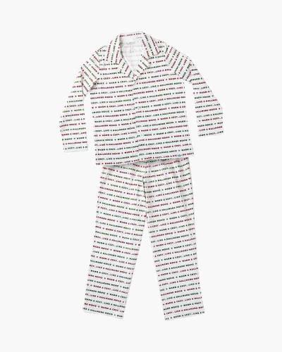 Warm and Cozy Hallmark Movie Women's Pajama Set