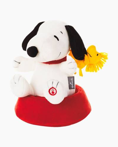 """Peanuts Silly Spinning Snoopy Stuffed Animal With Sound and Motion, 9.5"""""""