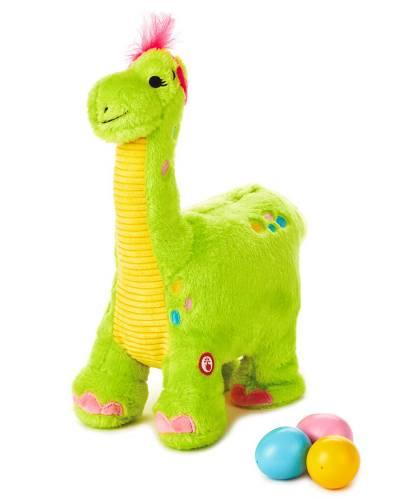 "Egg Layin' Dino Musical Stuffed Animal With Motion, 12"""