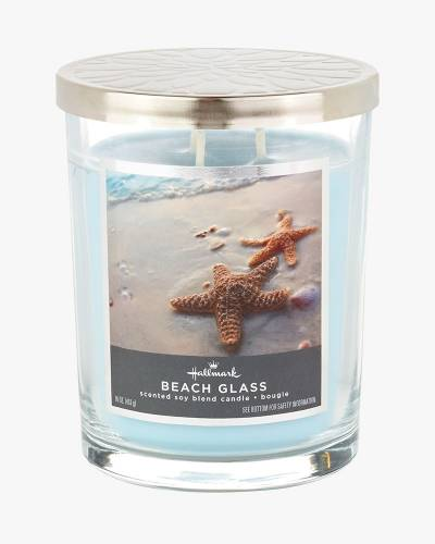 Beach Glass Scented Soy Blend Candle