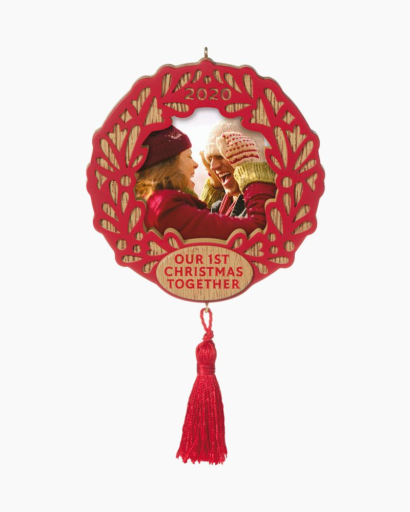 Hallmark Our First Christmas Together 2020 Photo Frame Ornament