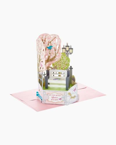 Wonderfolds Stroll in the Park Pop Up Birthday Card