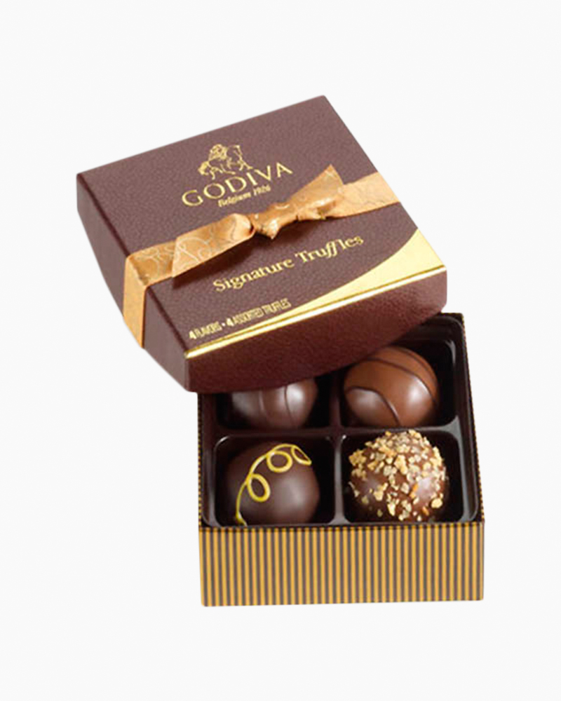Godiva Signature Chocolate Truffles (4 pc.)
