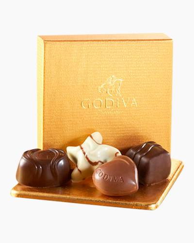 Gold Favor Chocolate Box