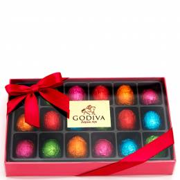 Godiva Eggstra Special Chocolate Eggs Gift Box (18-Piece)