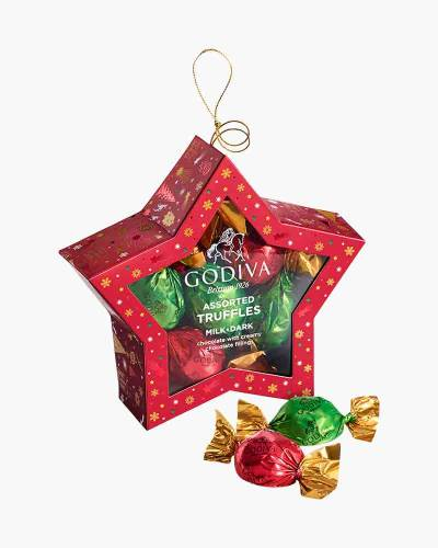 Ornament Chocolate Truffles Box (10-Piece)